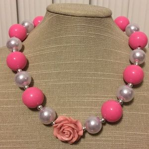Retro PINK necklace